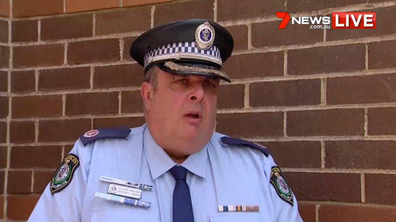 NSW Assistant Commissioner Michael Corboy is pictured.