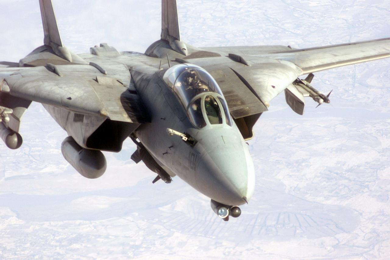 Iran Is Flying One of America's Most Powerful Fighter Jets (From the 1970s)