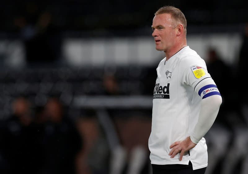 Rooney awaiting COVID-19 test result after friend's visit