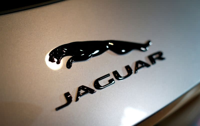Jaguar Land Rover unveils new Jaguar F-Type model during its world premiere in Munich
