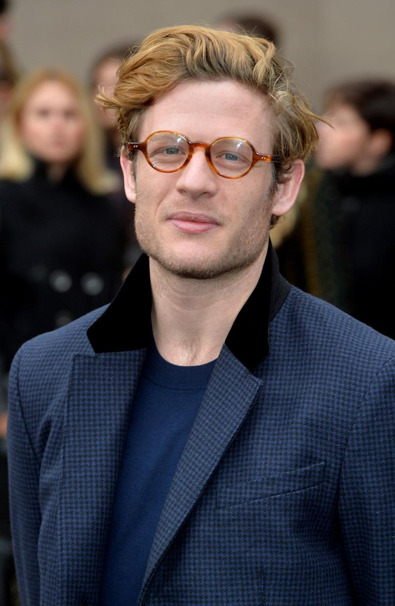 LONDON, ENGLAND - JANUARY 12: James Norton attends the Burberry Prorsum show at the London Collections: Men AW15 on January 12, 2015 in London, England. (Photo by Anthony Harvey/Getty Images)