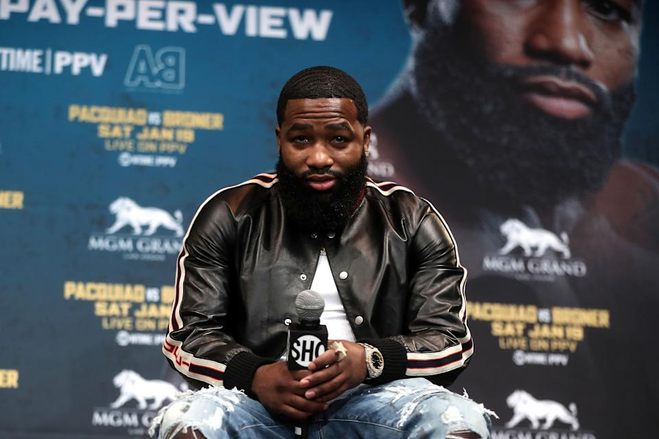 Adrien Broner failed to appear in court, and now has to pay over $800,000 to a woman who accused him of sexually assaulting her in a nightclub. (Photo by Atilgan Ozdil/Anadolu Agency/Getty Images)