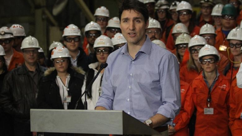 Justin Trudeau visiting Hamilton to support steel workers