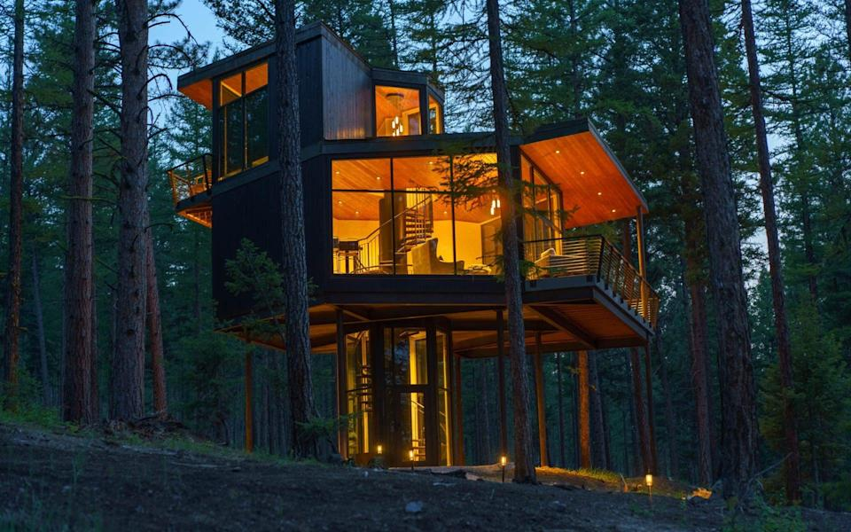 """A """"haus"""" at Green O in Montana"""