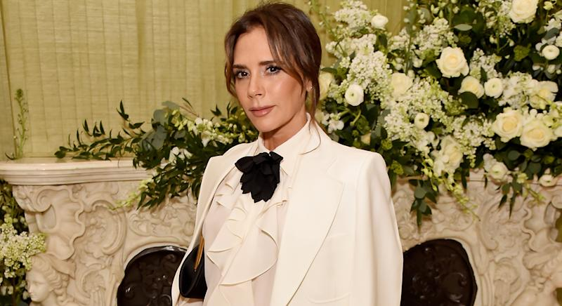 Victoria Beckham has launched her third collection with Reebok. (Getty)