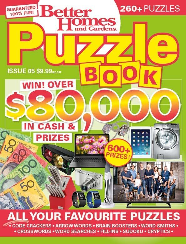 New Puzzle Book From Bhg
