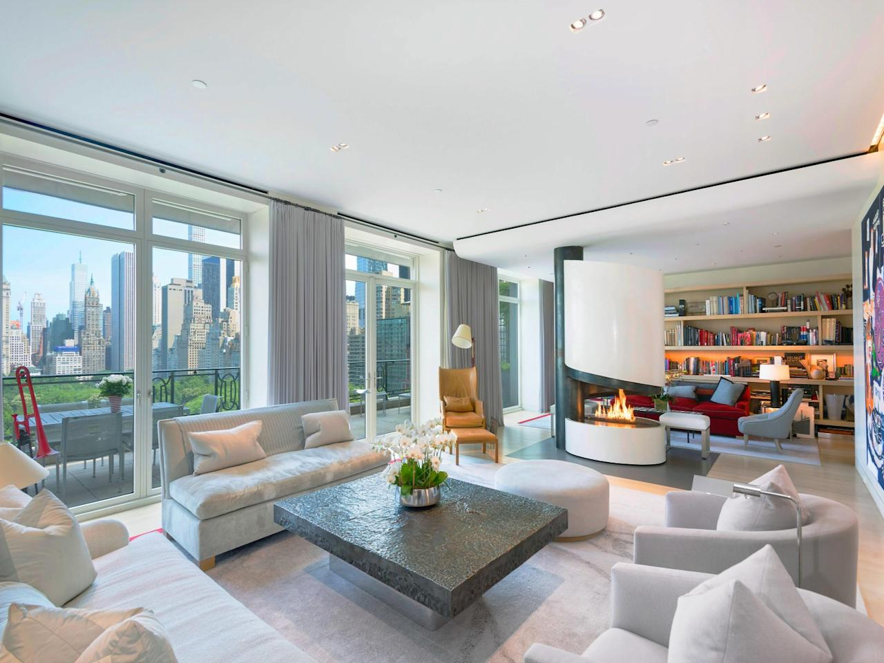<p>Sting: Rock star Sting put his Manhattan penthouse on the market – and if the view didn't blow you away, the price would. The apartment, which overlooks the famous Central Park in New York, is being offered for $56 million – about £43 million. (Sotheby's International Realty) </p>