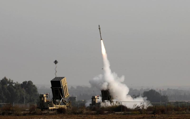 The laser will complement Israel's Iron Dome missile defence system - AFP