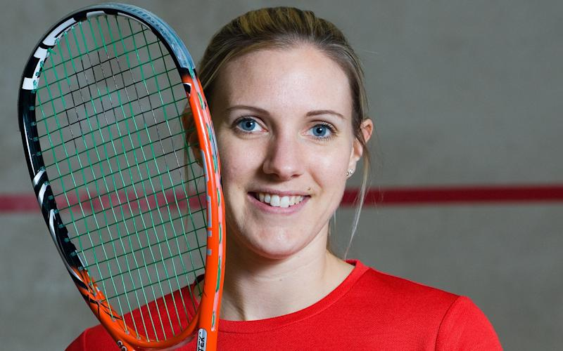 Laura Massaro is looking to inspire the next generation at the women's world squash championships in Egypt next week - Copyright (c) 2014 Rex Features. No use without permission.