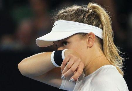 Eugenie Bouchard Isn't Ready to Accept Maria Sharapova After Doping Ban