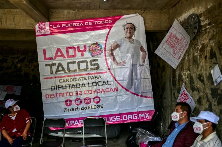 Lady Tacos de Canasta wants to improve health services for the LGBT community and ensure protection for street vendors