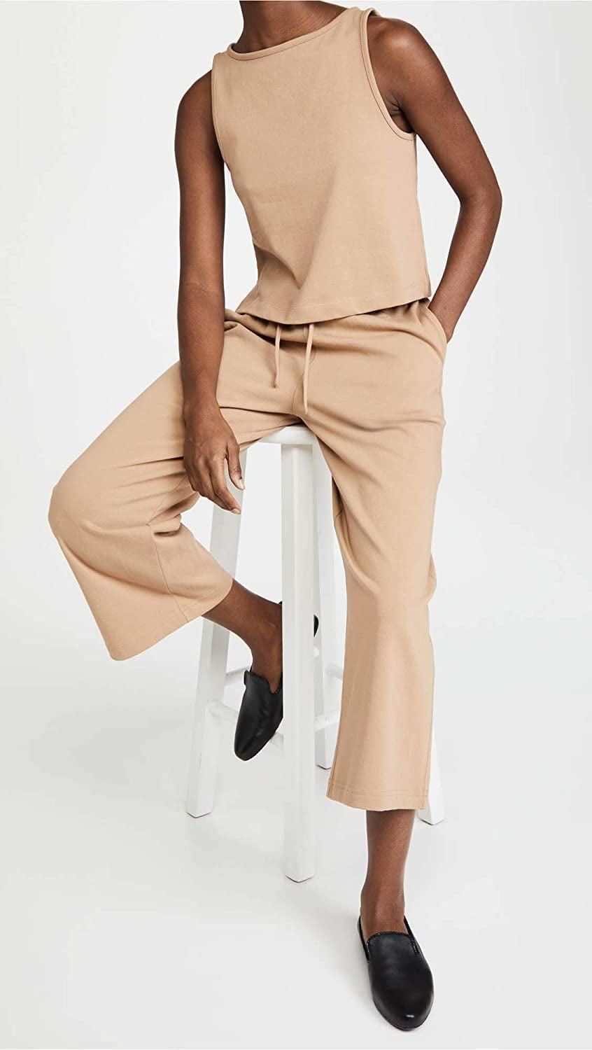 <p>These <span>Vince Cropped Wide Leg Pants</span> ($195) would look great with a tank and loafers.</p>
