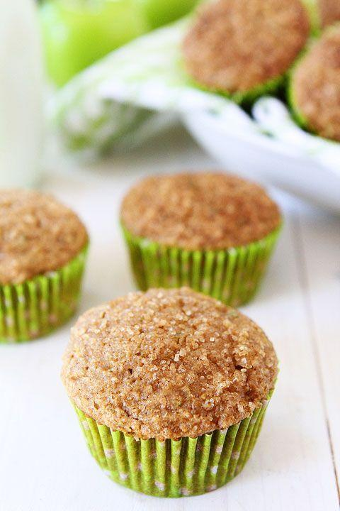 """<p><span>Muffins without the guilt? Sign us up.</span></p><p><span>Get the recipe from </span><a href=""""http://www.twopeasandtheirpod.com/apple-zucchini-muffins/"""" rel=""""nofollow noopener"""" target=""""_blank"""" data-ylk=""""slk:Two Peas & Their Pod"""" class=""""link rapid-noclick-resp"""">Two Peas & Their Pod</a><span>.</span><br></p>"""