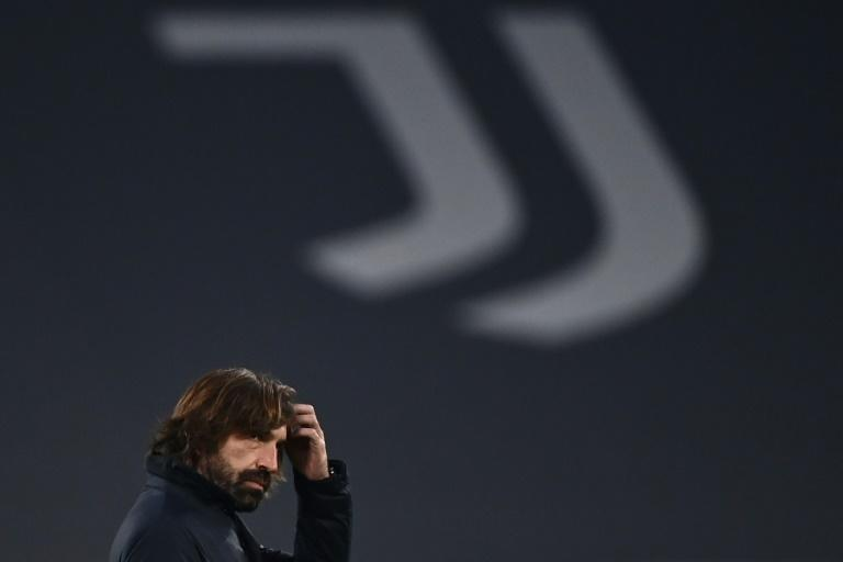 Backs to the wall: Andrea Pirlo's Juventus are sixth in Serie A.