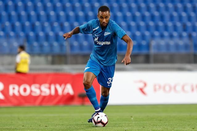 Hernâni durante a virada improvável do Zenit (Mike Kireev/NurPhoto via Getty Images)