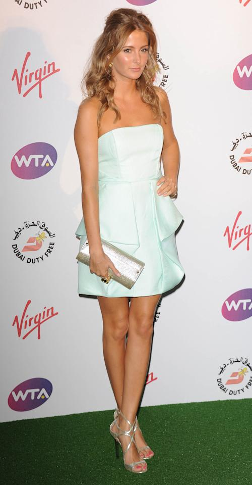 LONDON, UNITED KINGDOM - JUNE 21: Millie Mackintosh attends the Pre-Wimbledon Party at Kensington Roof Gardens on June 21, 2012 in London, England. (Photo by Stuart Wilson/Getty Images)