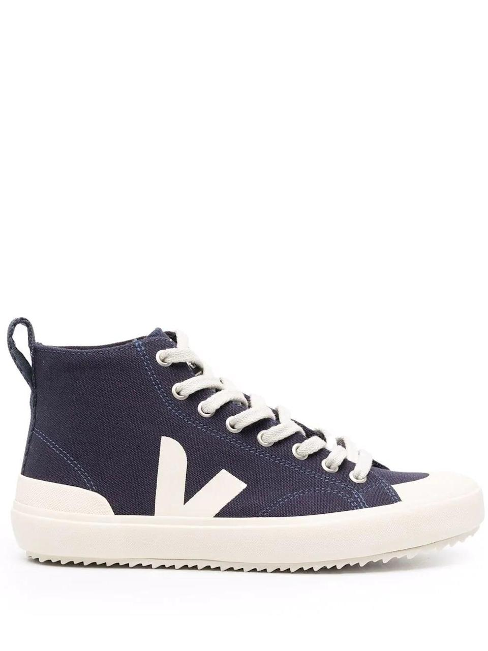 <p>We love how simple these <span>Veja High-Top Baseball Sneakers</span> ($101) are.</p>