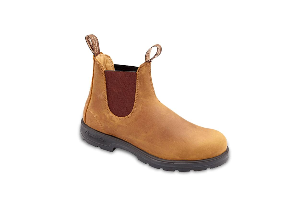 """$185, Huckberry. <a href=""""https://huckberry.com/store/blundstone/category/p/31562-super-550"""">Get it now!</a>"""
