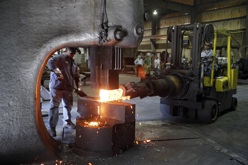 US factory orders rise 4.8 percent in September