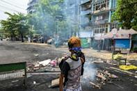"""Myanmar's military junta insists security forces are """"exercising utmost restraint"""" in response to protests"""
