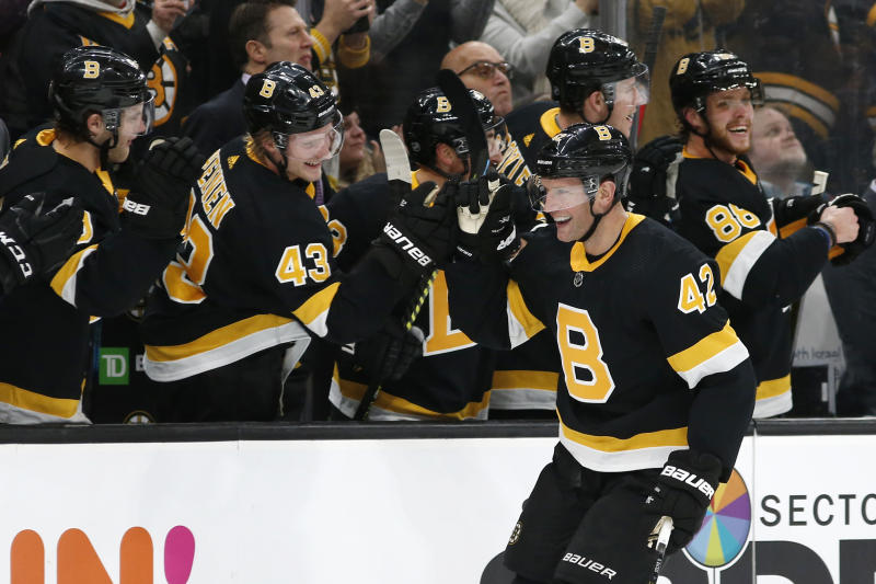 Bruins place Backes on waivers for goal of AHL assignment