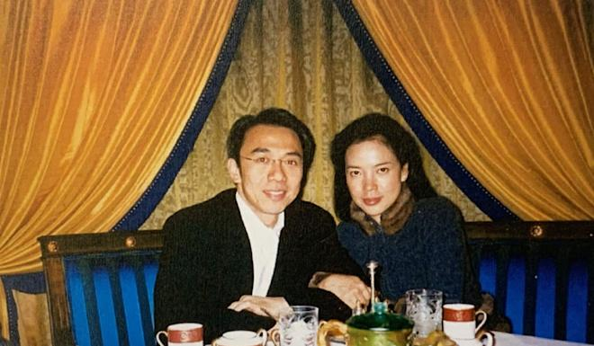 Wilson Fung and Cheyenne Chan confessed their feelings towards each other during dinner in Macau on December 10, 2003. Photo: Handout