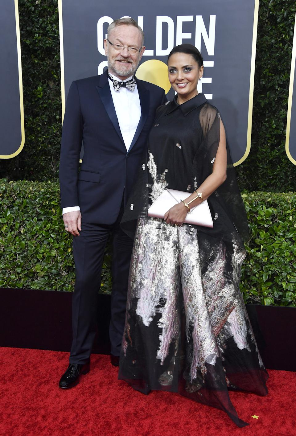 "<h1 class=""title"">Jared Harris in Dior Men and David Yurman jewelry and Allegra Riggio</h1><cite class=""credit"">Photo: Getty Images</cite>"