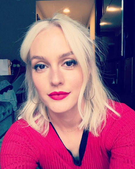 <p>Seven hours and some serious peroxiding later, Leighton's looking more Little J than Blair Waldorf with her blonde 'do.</p>