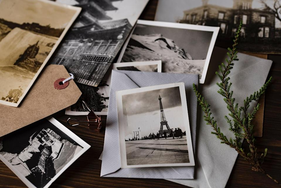 <p>Tap into your creative side and craft your own relationship time-capsule. Not only will you share a handful of belly-laughs when reminiscing about old photos from the past, but it will also be fun to revisit these memories in years to come. </p>