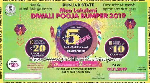 Punjab State Diwali 2019 Bumper Lottery Tickets Sale Begins, Check Here to Know More About Rs 5 Crore Prize Money