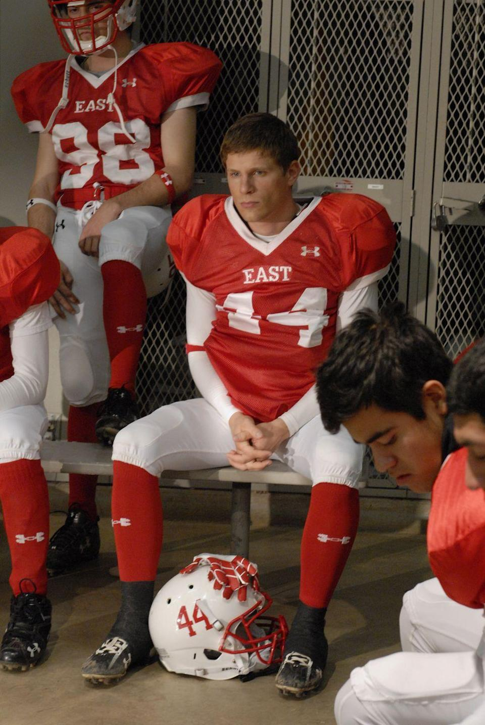 <p>Luke Cafferty was not supposed to be on the Lions—at least according to Luke Cafferty. During his time on the show, Luke went through an injury and dealt with a difficult coach and an unplanned pregnancy. By the end of the series, Cafferty not only straightened himself out, but is seen leaving his state ring to girlfriend Becky as he he departs to enlist in the U.S. military. </p><p>Before Lauria joined the show, he had cameos in <em>30 Rock, Law and Order: Criminal Intent</em> and a recurring role in <em>Lipstick Jungle</em>.</p>