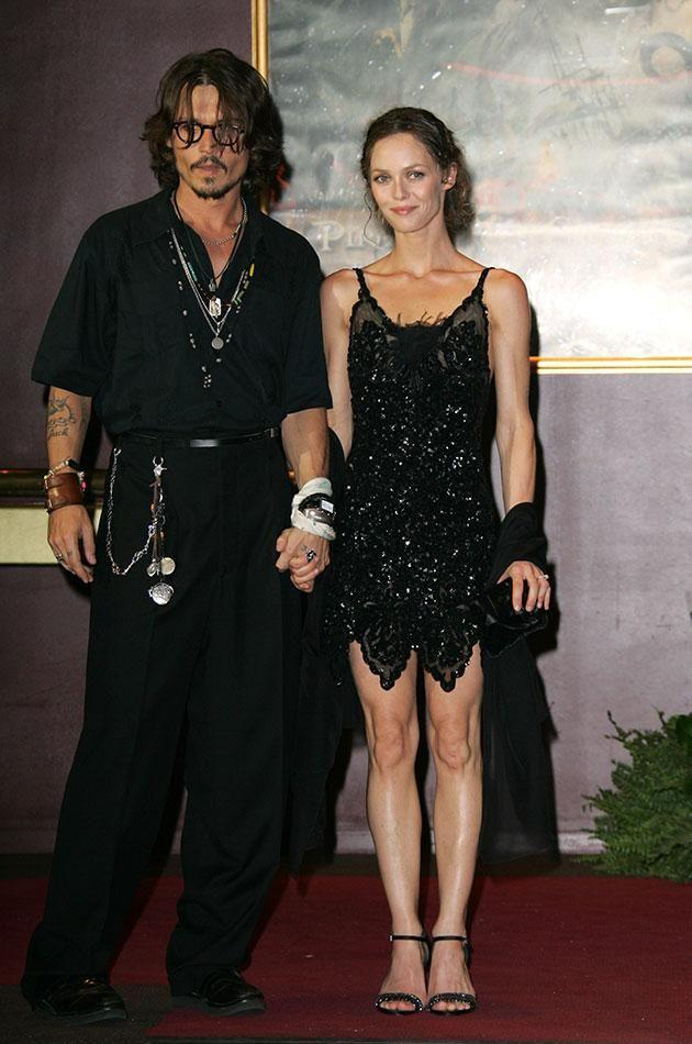 Johnny and Vanessa were together together in LA. Source: Getty