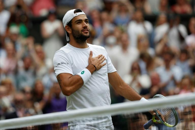Matteo Berrettini was overwhelmed by the flood of advice he received from Boris Becker who he could emulate in winning the Queen's tournament on debut and then Wimbledon a few weeks later
