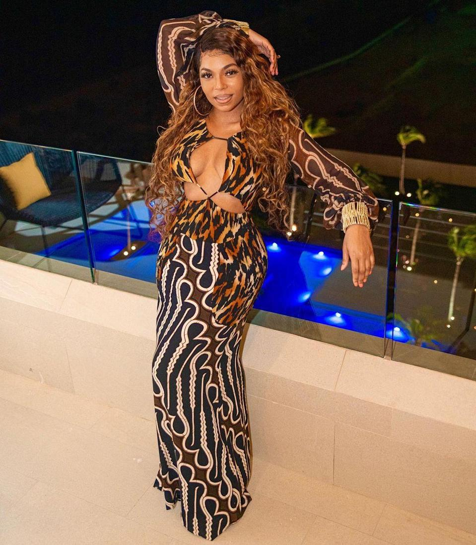 """<p><strong>Location:</strong> Cancun, Mexico</p> <p>Ashanti celebrated her sister Kenashia's birthday with a trip down to Mexico with several friends and family members (including Flo Rida!), staying at the <a href=""""https://cancun.garzablancaresort.com/"""" rel=""""nofollow noopener"""" target=""""_blank"""" data-ylk=""""slk:Garza Blanca Resort & Spa Cancun"""" class=""""link rapid-noclick-resp"""">Garza Blanca Resort & Spa Cancun</a>. The group stayed in a four-bedroom loft with a private terrace and jacuzzi, and enjoyed a yacht trip in the Caribbean Sea.</p>"""