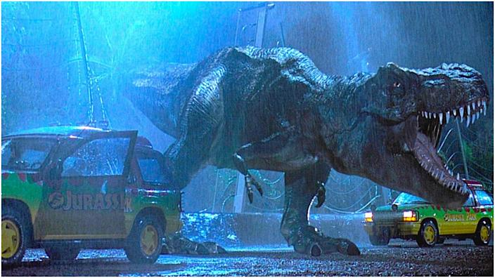 "<br>""Jurassic Park"" is a movie I watched a lot as a kid growing up."
