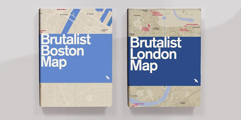 It's not always easy to spot architectural wonders in the streets of a crowded city. These handy maps point out must-see buildings by style—from Art Deco to Brutalist—in top cities around the world, so you never miss out on a good (iconic!) thing again. SHOP NOW: Brutalist London map by Blue Crow Media, $10, amazon.com