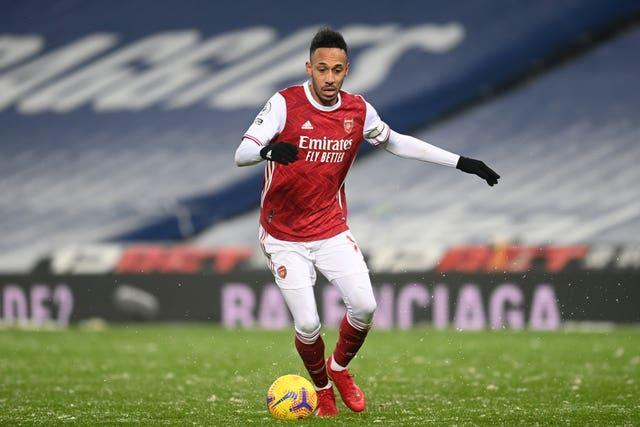 Arsenal were again without captain Pierre-Emerick Aubameyang
