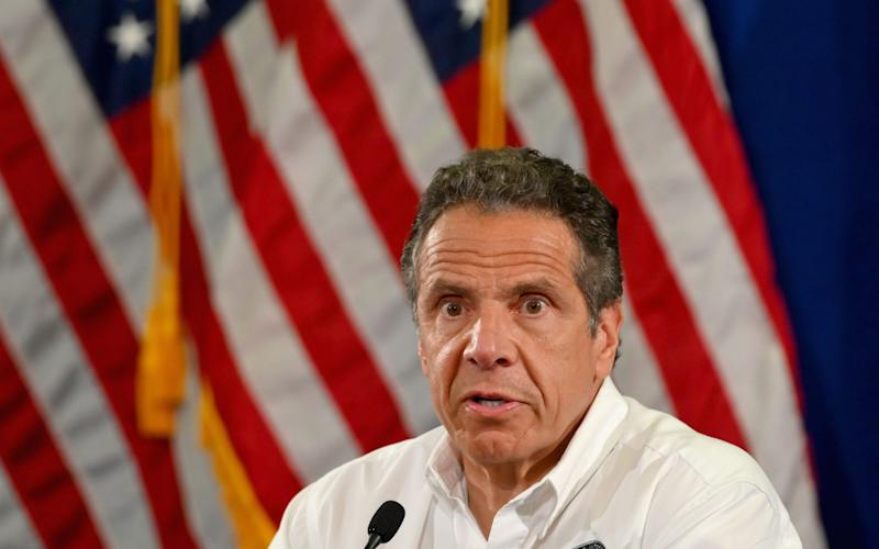 """Andrew Cuomo said he did not """"trust"""" the federal government's approval process - AFP"""
