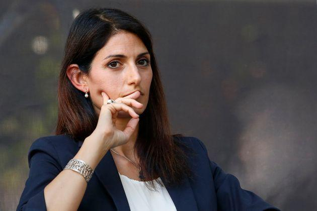 The candidate mayor of Rome at the next elections, Virginia Raggi during a confrontation at the Acquario Romano, during the 'Festival del'Architettura'. Rome (Italy), July 29th 2021 (Photo by Samantha Zucchi/Insidefoto/Mondadori Portfolio via Getty Images) (Photo: Mondadori Portfolio via Getty Images)