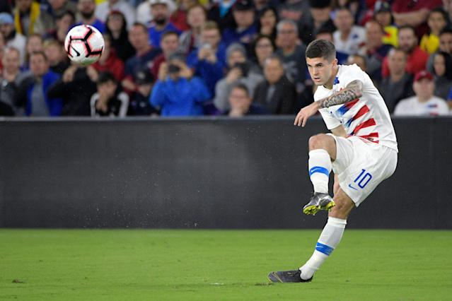 Christian Pulisic is the centerpiece of the United States men's national team right now, but there's a ton of talent alongside him. (Associated Press)