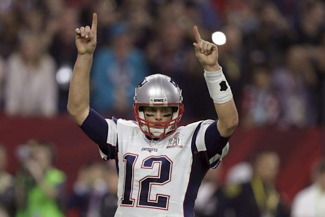 The FBI and Houston police say they found Tom Brady's Super Bowl LI jersey. (AP)