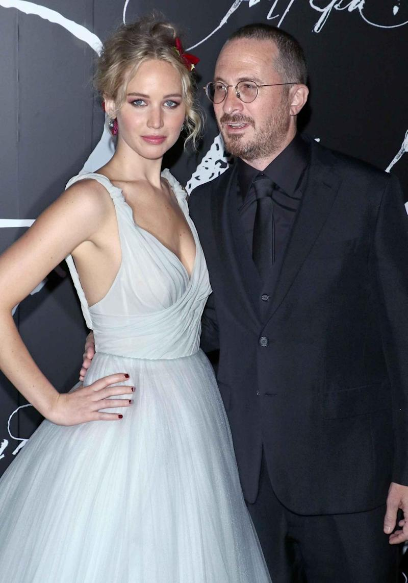 The actress split from her boyfriend director Darren Aronofsky in November 2017 after dating for just over one year. The couple are pictured here together last year. Source: Getty