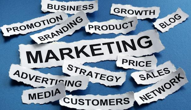 Marketing and strategy concept