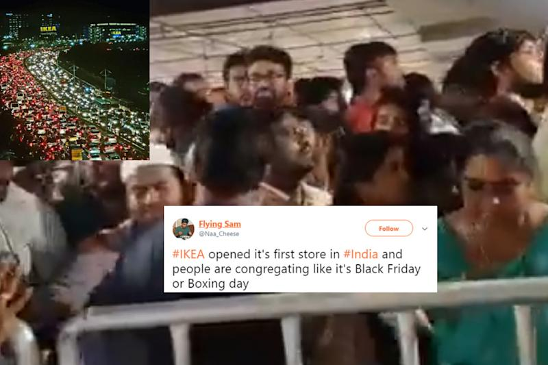 Ikea Opened its First India Store in Hyderabad and There Was Almost a Stampede
