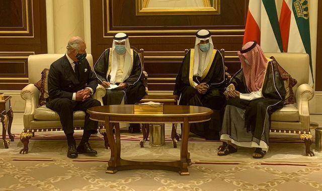 Prince Charles offers condolences to Kuwait after country's ruler dies at 91