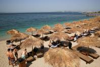 Beaches officially reopen to the public, in Athens