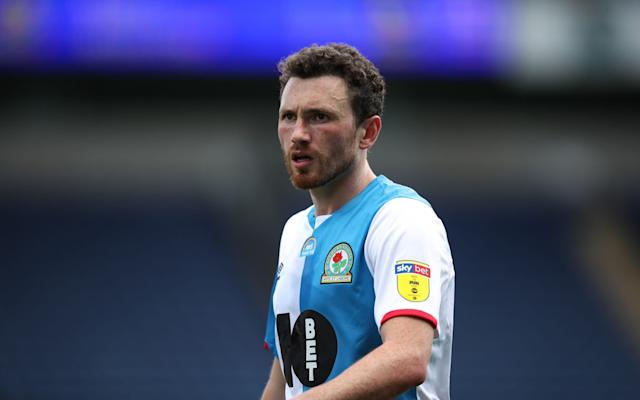 orry Evans of Blackburn Rovers during the Sky Bet Championship match between Blackburn Rovers and Bristol City - Getty Images
