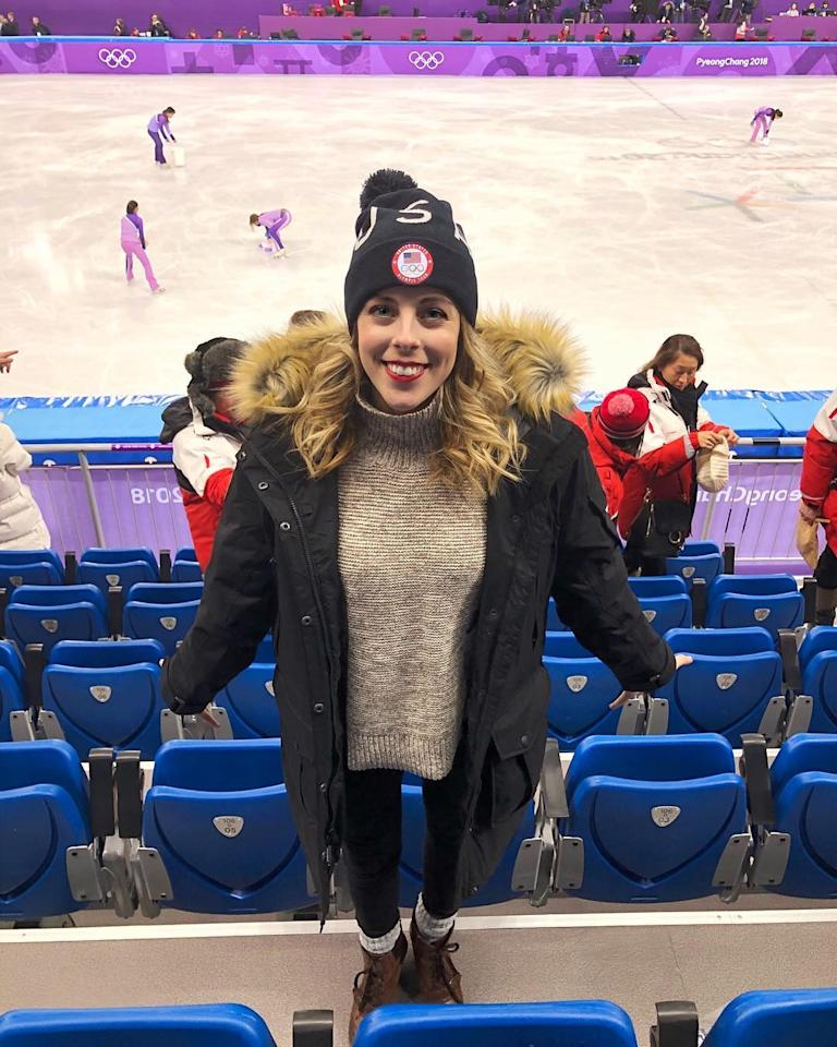 <p>ashwagner2010: Different shoes to be here in, but they're still cute (Photo via Instagram/ashwagner2010) </p>