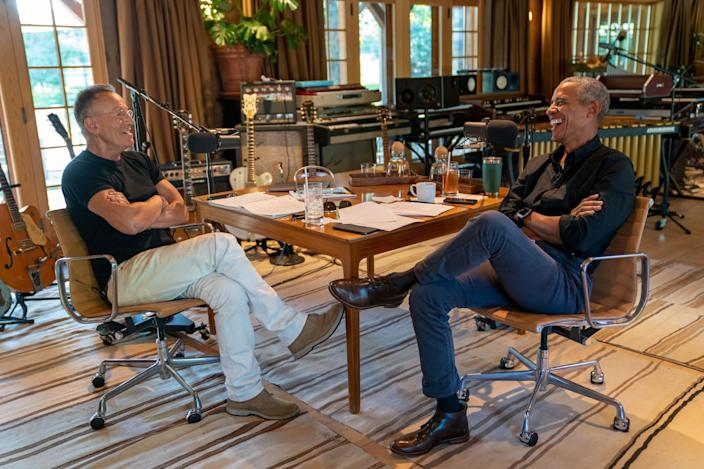 """The premiere""""Renegades"""" episode is titled """"Outsiders: An Unlikely Friendship"""" and shows listeners how the politician and the musician forged their relationship."""
