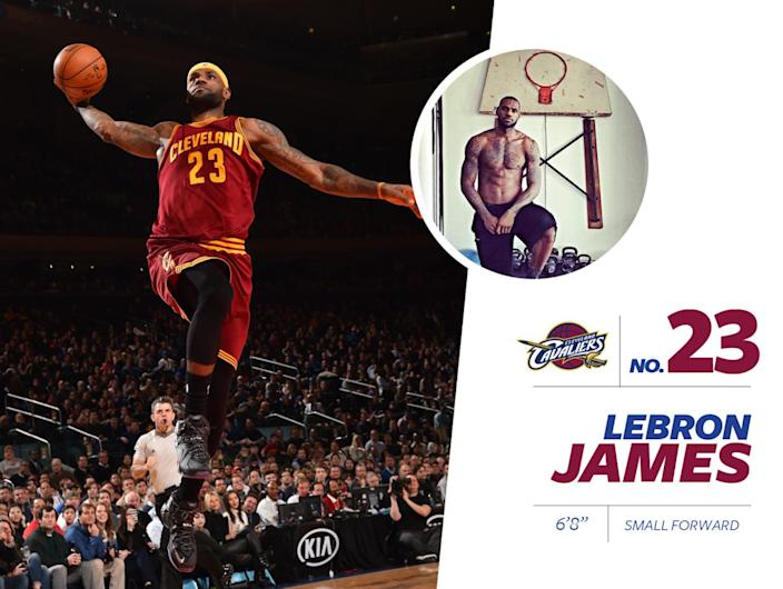 """<p>""""King"""" James is widely considered the best active player in the world — and he's also the highest paid. Like in his playing, James' style is flashy: He always has about $1 million on his wrists in the form of <a href=""""https://www.instagram.com/p/BENJkYHCTKP/?taken-by=kingjames"""" rel=""""nofollow noopener"""" target=""""_blank"""" data-ylk=""""slk:Hermes leather bracelets"""" class=""""link rapid-noclick-resp"""">Hermes leather bracelets</a>, Cartier jewelry and a <a href=""""https://www.instagram.com/p/_06NChiTKP/?taken-by=kingjames"""" rel=""""nofollow noopener"""" target=""""_blank"""" data-ylk=""""slk:big, fat gold watch"""" class=""""link rapid-noclick-resp"""">big, fat gold watch</a> with diamonds. He's also one of few men who can <a href=""""https://www.instagram.com/p/_cPYJKiTAN/?taken-by=kingjames"""" rel=""""nofollow noopener"""" target=""""_blank"""" data-ylk=""""slk:pull off wearing a fedora"""" class=""""link rapid-noclick-resp"""">pull off wearing a fedora</a>. Props, King. <i>Photo: Getty Images / Instagram.com</i><br></p>"""